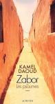 Couverture : Zabor ou Les psaumes Kamel Daoud