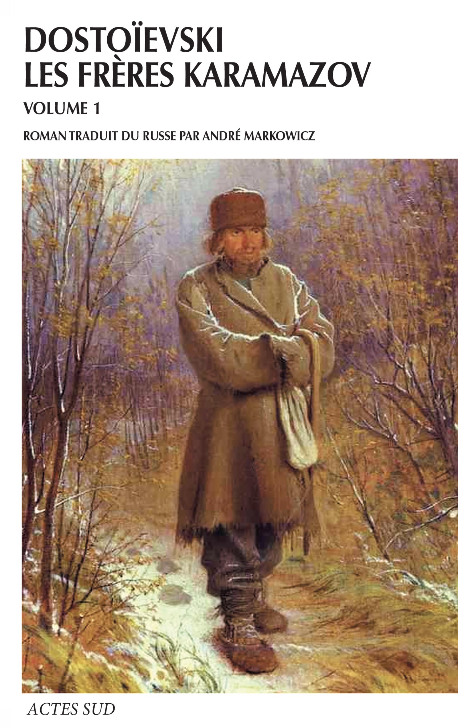 Couverture : Frères Karamazov Vol. 1 Fédor Dostoïevski