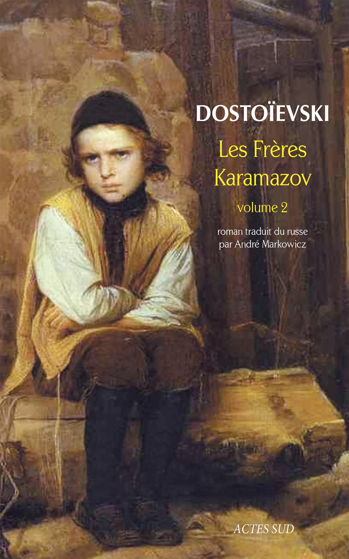 Couverture : Frères Karamazov Vol. 2 Fédor Dostoïevski