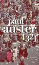 Couverture : 4 3 2 1 Paul Auster
