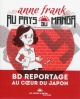 Couverture : Anne Frank au pays du manga Vincent Bourgeau, Alain Lewkowicz, Marc Sainsauve