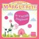 Couverture : Au cirque Fanfaron T.3: Marguerite la vache jongleuse Carole Trebor, Arianna Tamburini