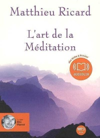 Vignette du livre Art de la méditation (L')  1 CD mp3 (4h20)