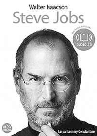 Vignette du livre Steve Jobs   2 CD mp3  (22h30)