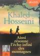 Couverture : Ainsi résonne l'écho infini des montagnes  2 CD mp3  (15h19) Khaled Hosseini