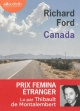 Couverture : Canada  2 CD mp3 (14h20) Richard Ford