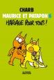Couverture : Maurice et Patapon T.6: Mariage pour tous !  Charb