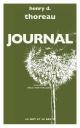 Couverture : Journal Henry David Thoreau
