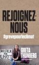 Couverture : Rejoignez-nous : #grèvepourleclimat Greta Thunberg