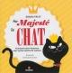 Couverture : Sa majesté le chat: comment vivre heureux avec... Grazia Valci, Germana Giorno