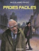 Couverture : Proies faciles Miguel-angel Prado
