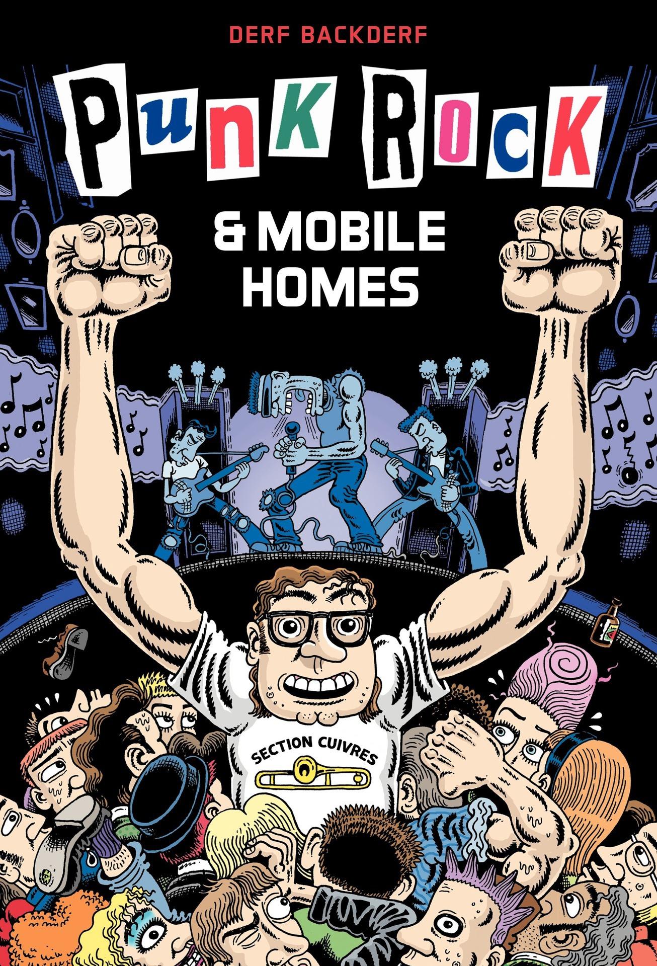 Couverture : Punk rock et mobile homes Derf Backderf