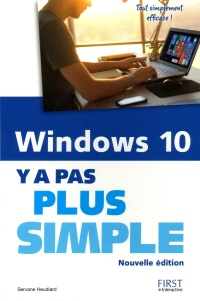 Vignette du livre Windows 10 : y a pas plus simple