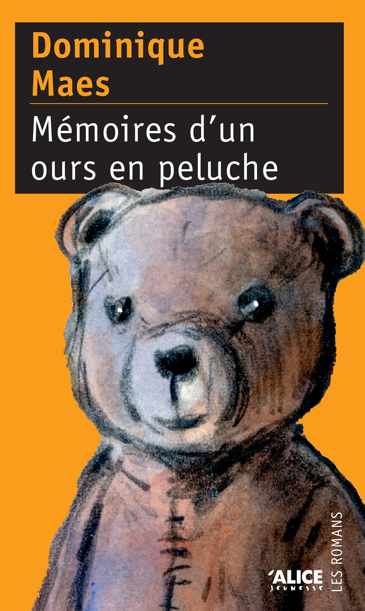 Couverture : Mémoires d'un Ours en Peluche Dominique Maes