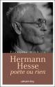 Couverture : Hermann Hesse, poète ou rien François Mathieu
