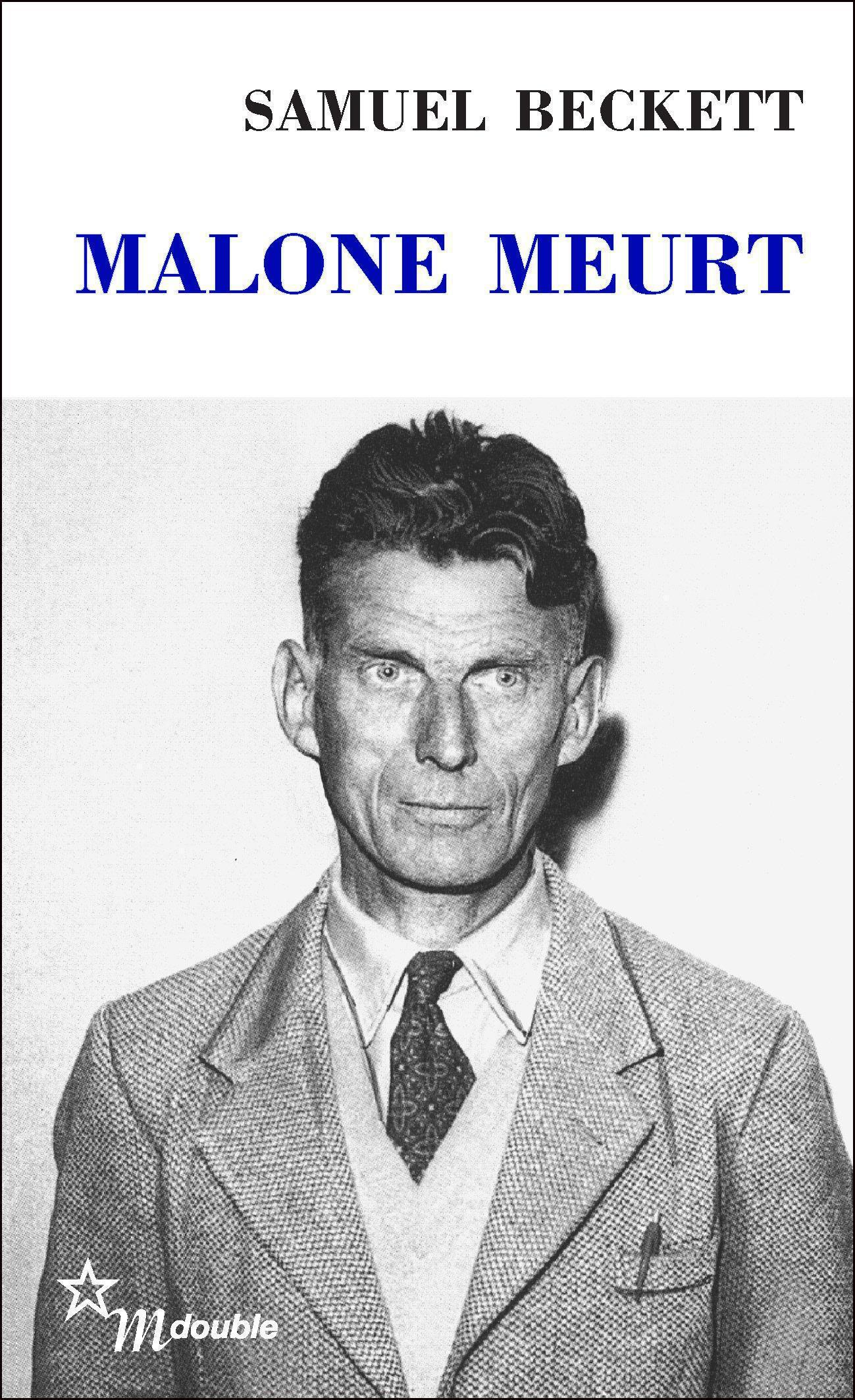Couverture : Malone meurt Samuel Beckett