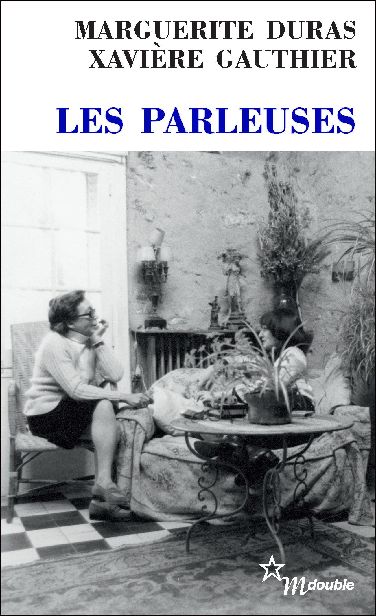 Couverture : Parleuses (Les) Marguerite Duras, Xavière Gauthier