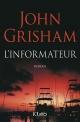 Couverture : L'informateur John Grisham