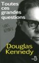 Couverture : Toutes ces grandes questions (sans réponse) Douglas Kennedy
