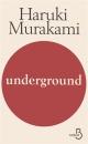 Couverture : Underground Haruki Murakami
