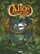 Couverture : Alice au pays des singes T.1  Tébo,  Nob, Nicolas Kéramidas