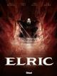 Couverture : Elric T.1 : Le trône de rubis Julien Blondel, Robin Recht, Didier Poli, Michael Moorcock