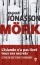 Couverture : Mörk Ragnar Jonasson