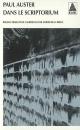 Couverture : Dans le scriptorium Paul Auster
