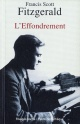 Couverture : Effondrement (L') Francis Scott Fitzgerald