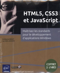 Vignette du livre HTML5,CSS3,Javascript: maîtrisez standards des applications Web