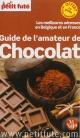 Couverture : Guide de l'amateur chocolat:Meilleures adresses Belgique/France Bernard Dubrulle, Brigitte Fernandez, Philippe Wyvekens