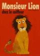 Couverture : Monsieur Lion chez le coiffeur Britta Teckentrup