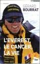 Couverture : L'Everest, le cancer, la vie (titre provisoire) Gérard Bourrat