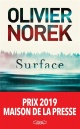 Couverture : Surface Olivier Norek