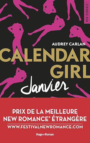 Couverture : Calendar Girl. Janvier Audrey Carlan