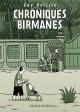 Couverture : Chroniques birmanes Guy Delisle