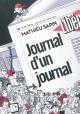 Couverture : Journal d'un journal Mathieu Sapin, Nicolas Demorand