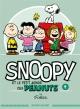 Couverture : Snoopy et le petit monde des Peanuts T.4  Svart, Charles Monroe Schulz