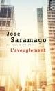 Couverture : Aveuglement (L') José Saramago