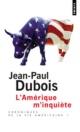 Couverture : Amérique m'Inquiète (L') Jean-paul Dubois