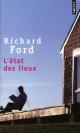 Couverture : Etat des Lieux (L') Richard Ford