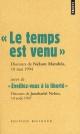 Couverture : Temps Est Venu (Le) Nelson Mandela