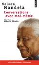 Couverture : Conversations avec moi-même Barack Obama, Nelson Mandela