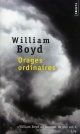 Couverture : Orages ordinaires William Boyd