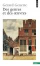 Couverture : Des genres et des oeuvres Gérard Genette