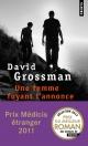 Couverture : Une femme fuyant l'annonce David Grossman