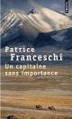 Couverture : Un capitaine sans importance Patrice Franceschi