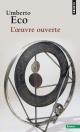 Couverture : L'oeuvre ouverte: Essais Umberto Eco