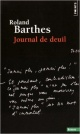 Couverture : Journal de deuil : 26 octobre 1977-15 septembre 1979 Roland Barthes