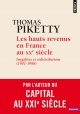 Couverture : Les hauts revenus en France au XXe siècle : inégalités et... Thomas Piketty